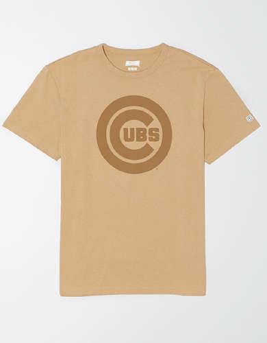 Tailgate Men's Chicago Cubs Tonal Graphic T-Shirt
