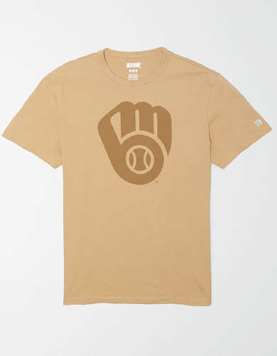 Tailgate Men's Milwaukee Brewers Tonal Graphic T-Shirt