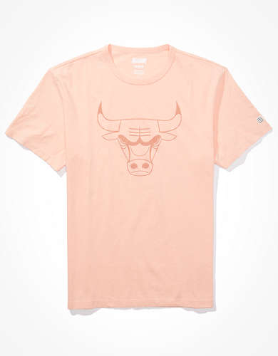 Tailgate Men's Chicago Bulls Tonal Graphic T-Shirt