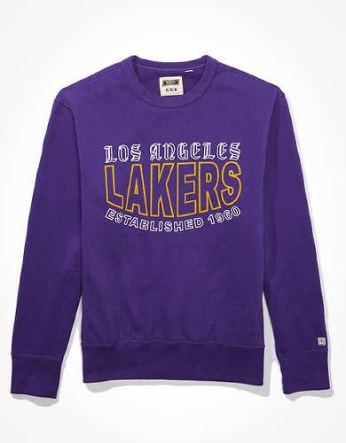 Tailgate Men's LA Lakers Crew Neck Fleece Sweatshirt