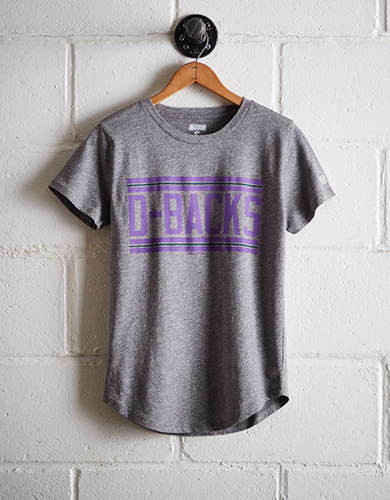 Tailgate Women's D-Backs Chest Stripe T-Shirt