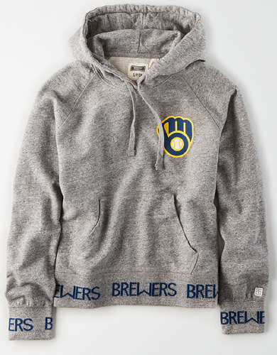 Tailgate Women's Milwaukee Brewers Pullover Hoodie