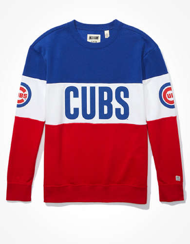 Tailgate Women's Chicago Cubs Colorblock Sweatshirt
