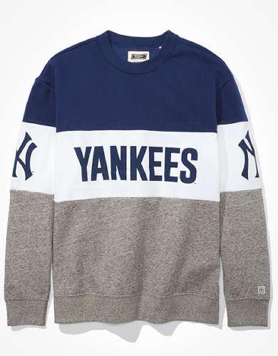 Tailgate Women's NY Yankees Colorblock Sweatshirt