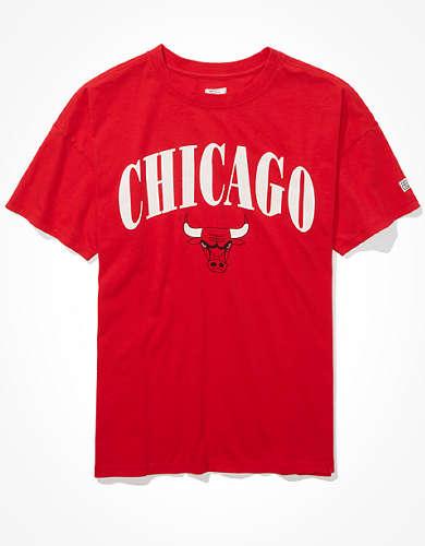Tailgate Women's Chicago Bulls Oversized T-Shirt