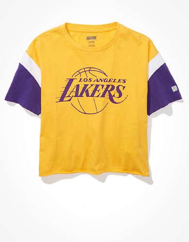 Tailgate Women's LA Lakers Colorblock T-Shirt