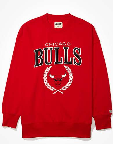 Tailgate Women's Chicago Bulls Oversized Fleece Sweatshirt