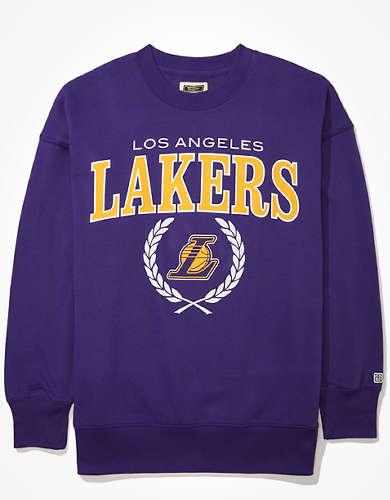 Tailgate Women's LA Lakers Oversized Fleece Sweatshirt