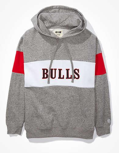 Tailgate Women's Chicago Bulls Colorblock Hoodie