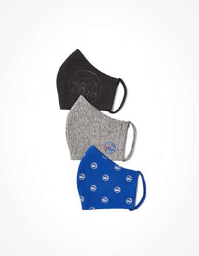 Tailgate Reusable Philadelphia 76ers Masks 3-Pack