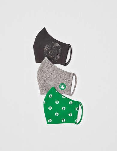 Tailgate Reusable Boston Celtics Masks 3-Pack