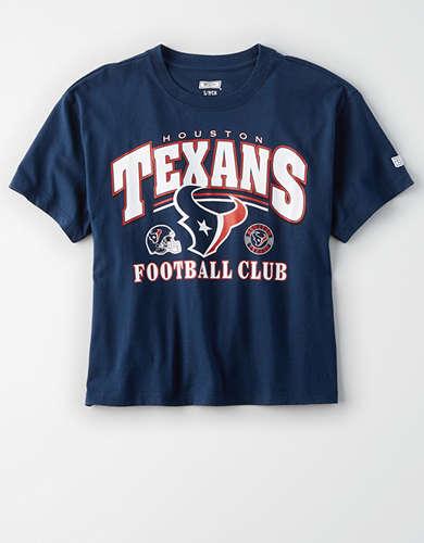Tailgate Women's Houston Texans Cropped T-Shirt