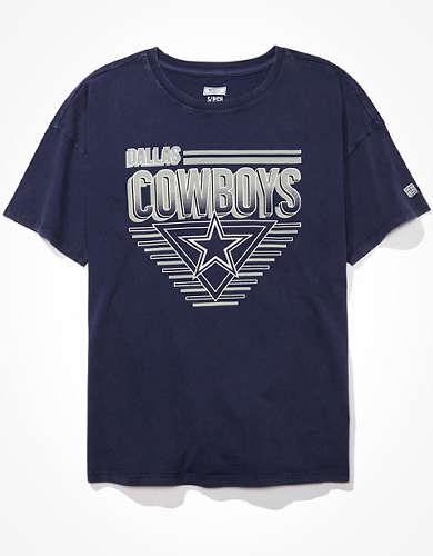 Tailgate Women's Dallas Cowboys Oversized T-Shirt