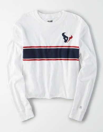 Tailgate Women's Houston Texans Long Sleeve T-Shirt