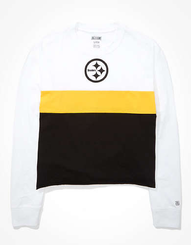 Tailgate Women's Pittsburgh Steelers Long-Sleeve T-Shirt