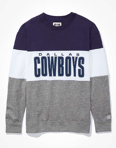 Tailgate Women's Dallas Cowboys Colorblock Sweatshirt