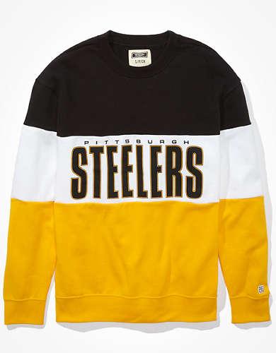 Tailgate Women's Pittsburgh Steelers Colorblock Sweatshirt