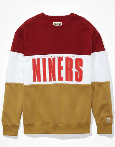Tailgate Women's San Francisco 49ers Colorblock Sweatshirt