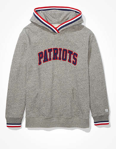 Tailgate Women's New England Patriots Tipped Hoodie