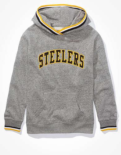 Tailgate Women's Pittsburgh Steelers Tipped Hoodie