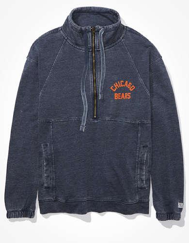 Tailgate Women's Chicago Bears Half-Zip Sweatshirt