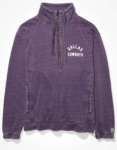 Tailgate Women's Dallas Cowboys Half-Zip Sweatshirt