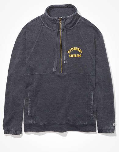 Tailgate Women's Pittsburgh Steelers Half-Zip Sweatshirt