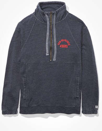 Tailgate Women's San Francisco 49ers Half-Zip Sweatshirt
