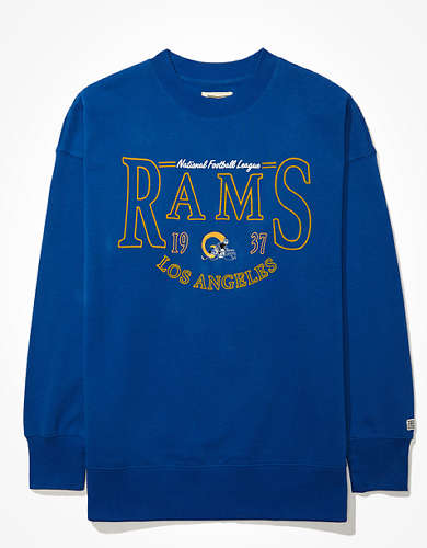 Tailgate Women's  LA Rams Oversized Fleece Sweatshirt