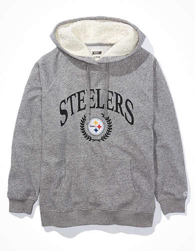 Tailgate Women's Pittsburgh Steelers Sherpa Lined Hoodie