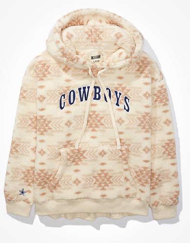 Tailgate Women's Dallas Cowboys Cozy Sherpa Hoodie