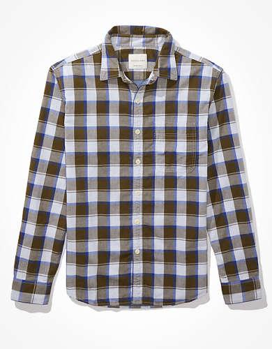 AE Spring Super Soft Flannel Shirt