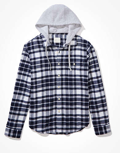 AE Super Soft Flannel Hoodie