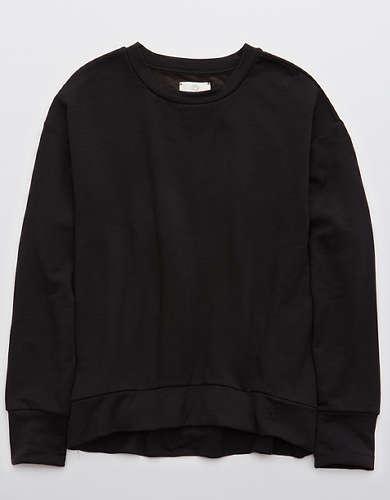 OFFLINE OTT Fleece Oversized Crewneck Sweatshirt