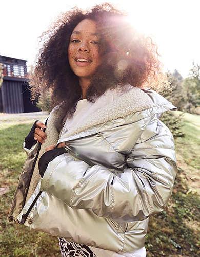 OFFLINE Sherpa Lined Puffer Jacket
