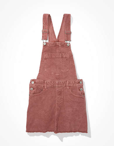 AE Corduroy Dress Overall