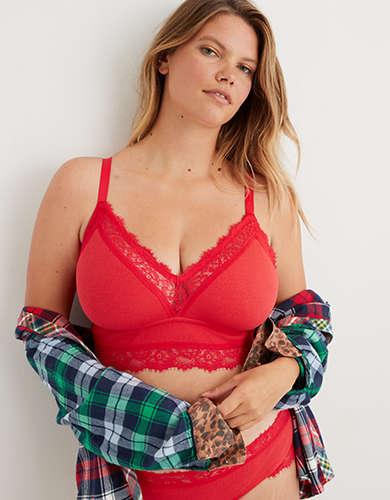 Aerie Waffle Triangle Bralette