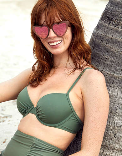 Aerie Lightly Lined Underwire Bikini Top