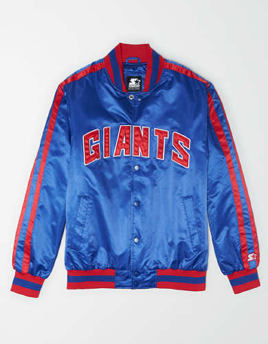 Tailgate X Starter Men's New York Giants Varsity Jacket