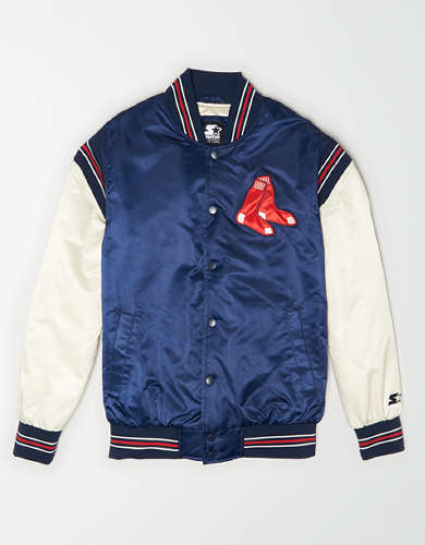 Tailgate X Starter Men's Boston Red Sox Varsity Jacket