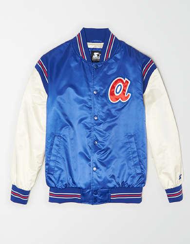 Tailgate X Starter Men's Atlanta Braves Varsity Jacket