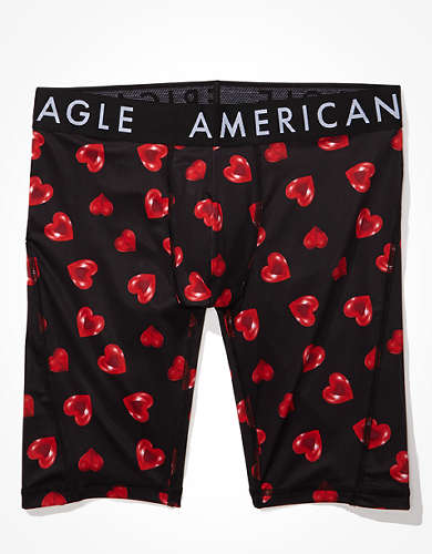 "AEO Pop Hearts 9"" Flex Boxer Brief"