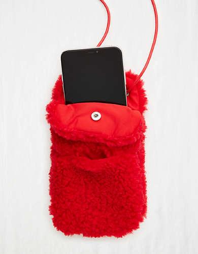 Aerie Sherpa Phone Purse