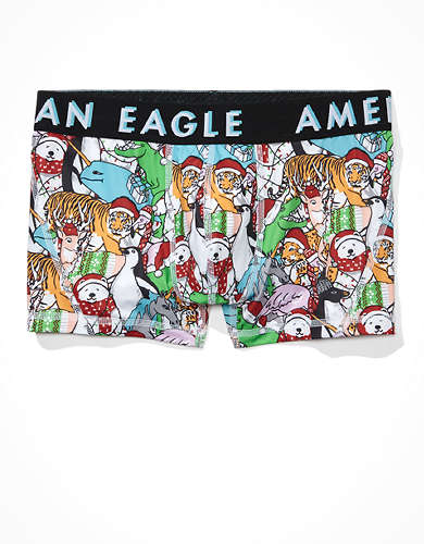 "AEO Xmas Characters 3"" Flex Trunk Underwear"
