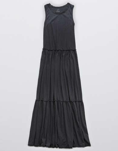Aerie Knit Tiered Maxi Dress