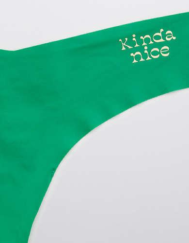 Aerie No Show Thong Underwear