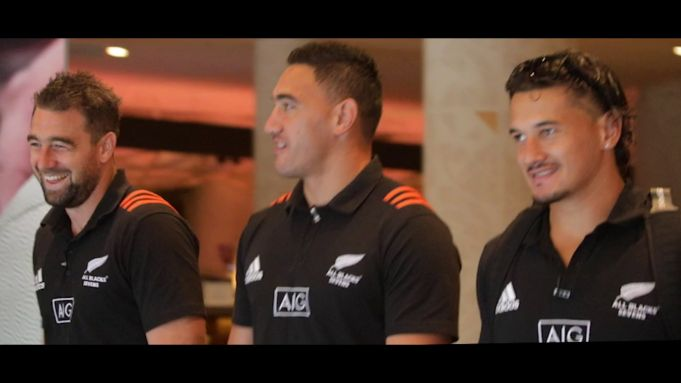 All Blacks Seven x AIG On the Go Video