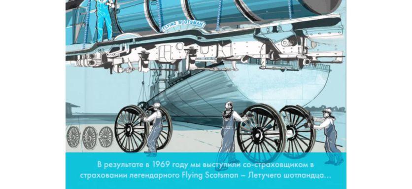Пассажирский скоростной паровоз —  Flying Scotsman