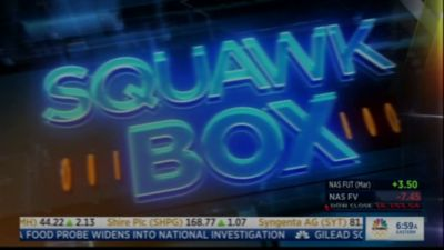 "CEO Peter Hancock on CNBC's ""Squawk Box"""