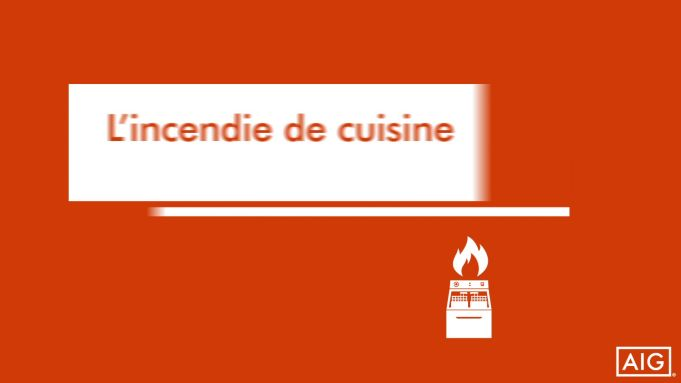 Incendie de cuisine